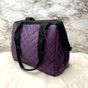 🌸Thermos Duffle Lunch Tote with Quilted Pattern🌸